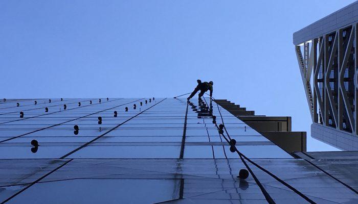 Rope Access facade inspection