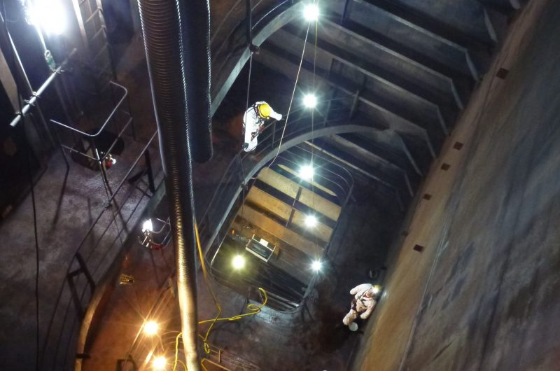 Rope Access cargo tank inspections