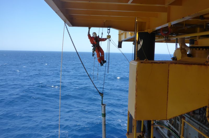 Offshore Rope Access Rigging and lifting