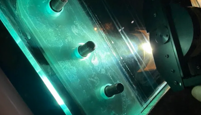 NiS inclusion inspection in toughened glass