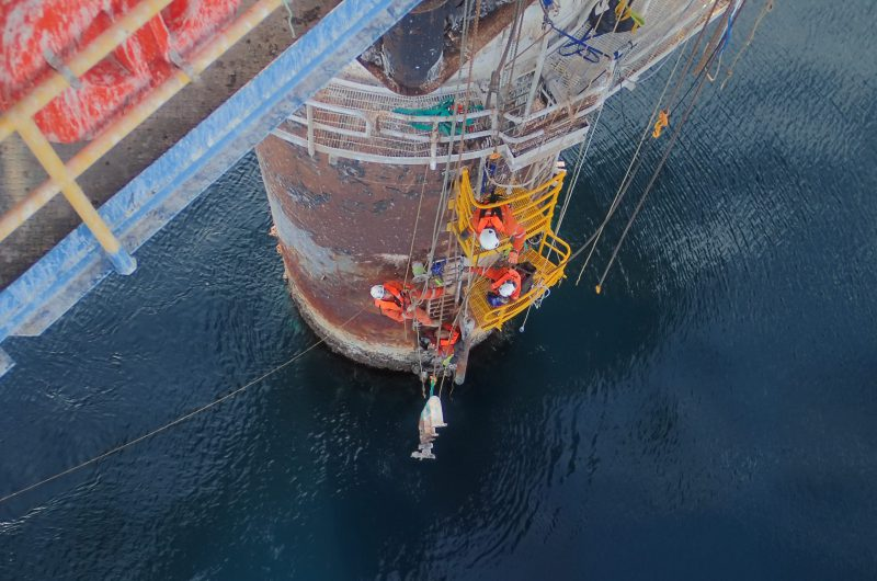 rope access offshore decommissioning